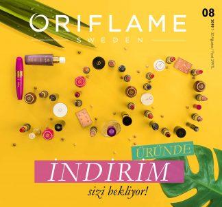 Oriflame Ağustos kataloğu 2019